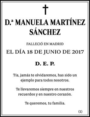 Manuela Martínez Sánchez